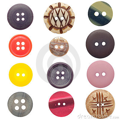 Free Set Of Sewing Buttons Stock Photos - 19919493
