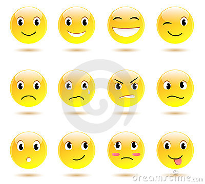 Free Set Of Smiles Stock Images - 21411464