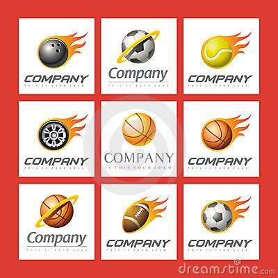 Free Set Of Sports Logos Royalty Free Stock Image - 13941756