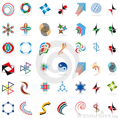 Free Set Of Symbols Stock Photo - 17423580