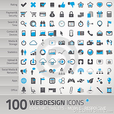 Free Set Of Universal Icons For Webdesign Stock Photo - 35220980