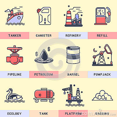 Free Set Of Vector Icons In The Flat Style. Royalty Free Stock Photography - 65839227