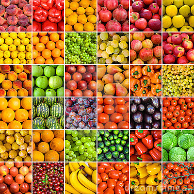 Free Set Of Vegetable Backgrounds Stock Photo - 12389020