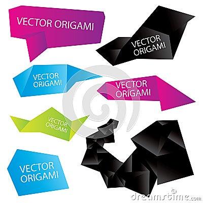 Set of  origami