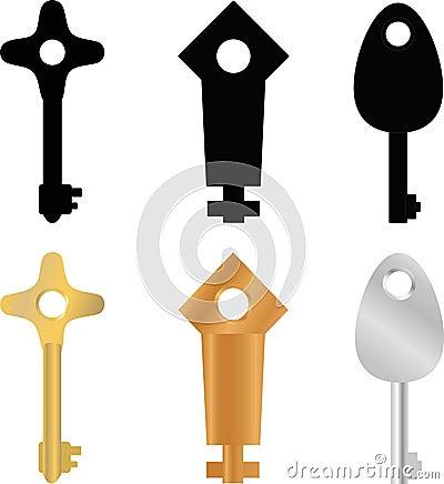 Original keys