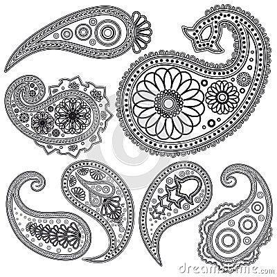 Paisley Pattern no Pinterest