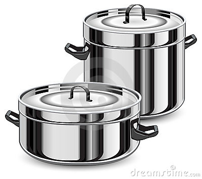 Set of pans