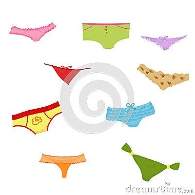Set of panties