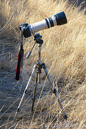 A set of photographic equipment