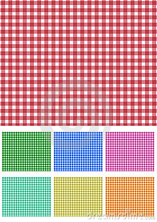 Free Set Picnic Fabric Stock Photos - 14395243