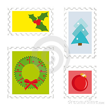 Set of postage stamps 2