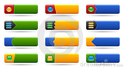 Set rectangle buttons