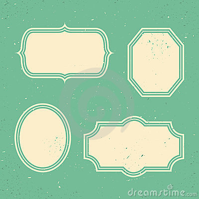 Set Of Retro Banners  Stock Photography - Image: 24063082