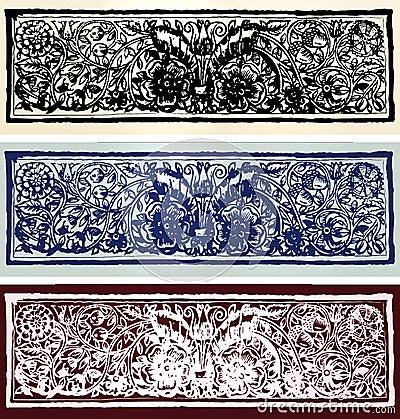 Set of retro designes  banners