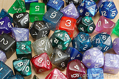 Set of Role Playing Dice