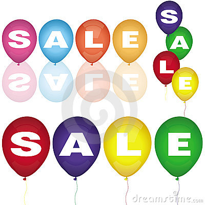 Set of sale balloons