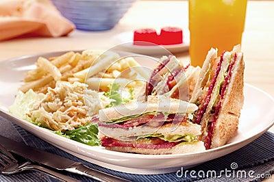 Set of sandwich