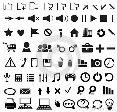 Set sieci ikona