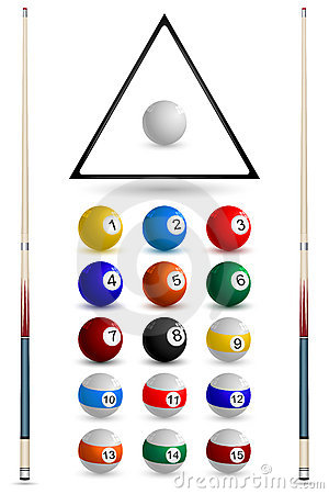 Snooker Ball Arrangement