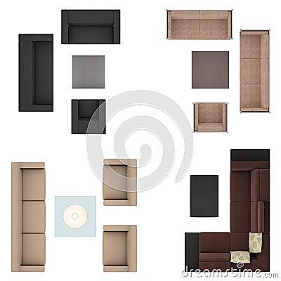 Sofas Set Stock Photography Image 30178072