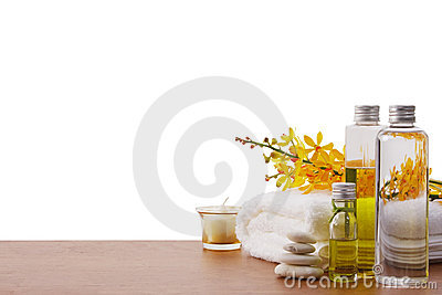 Set of spa treatment