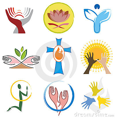 Set of Spirituality / Religion Icons