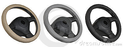 Set of steering wheels