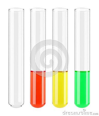 Set of Test tube