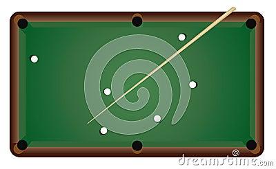 Set to play billiards