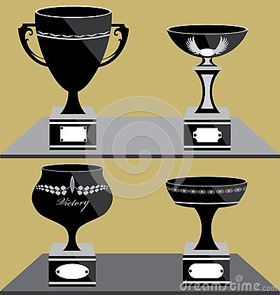 Set of Trophies Icon