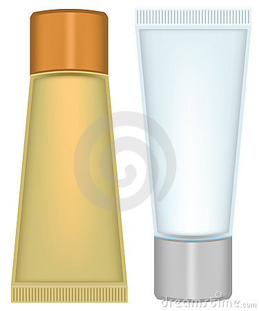 Set tube cosmetics