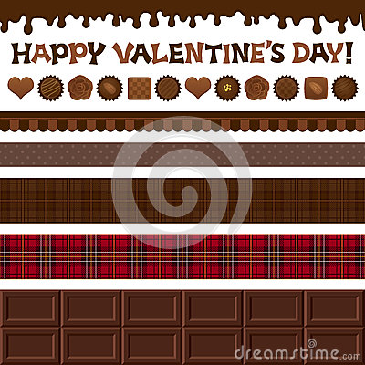 Set of Valentine's Day illustrations.