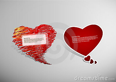 Set of Valentine s heart