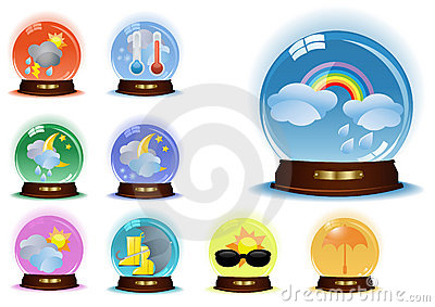 Set-of-vector-globes-with-weather-phenomenons