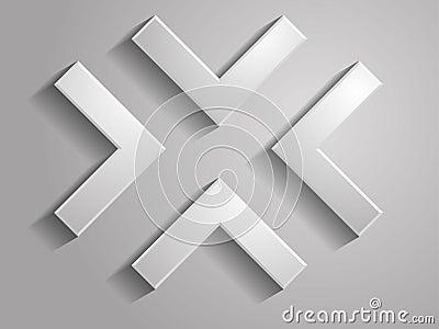Set Vector icon of arrows illustration