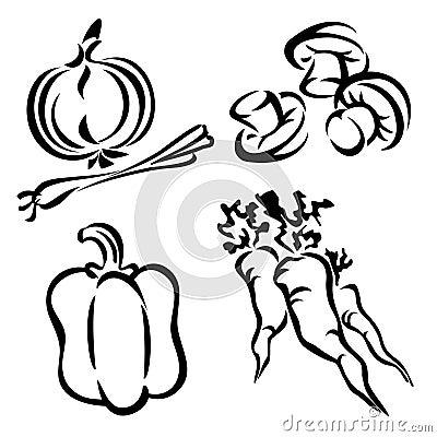 Set vegetables