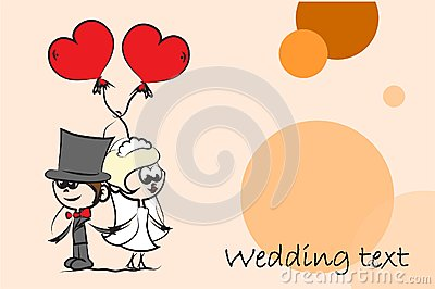Set of wedding pictures,vector
