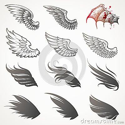 Set of wings.