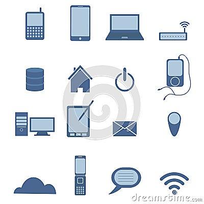 Set of Wireless icon