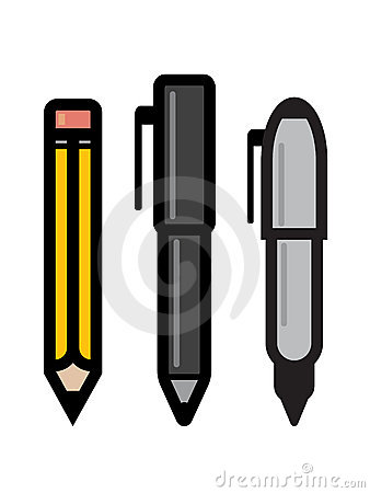 Set of Writing Utensils