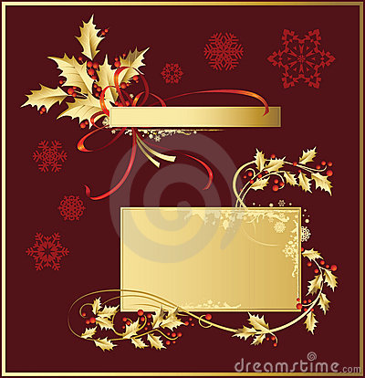Free Set_of_Christmas_decorations Royalty Free Stock Photo - 3544715