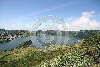 Sete лагуны cidades Азорских островов