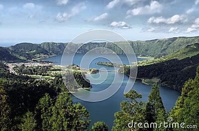 Sete Cidades lagoon