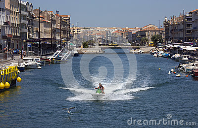 Sete - French Riviera - South of France Editorial Photo