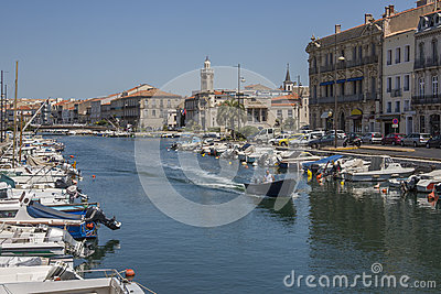 Sete - South of France Editorial Stock Photo