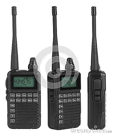 Sets för bärbar radio