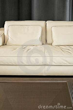 Settee and table