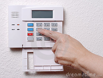Setting the House Alarm