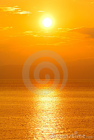 Free Setting Sun Stock Photo - 2511360