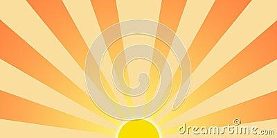 Setting Sun Graphic Cl...